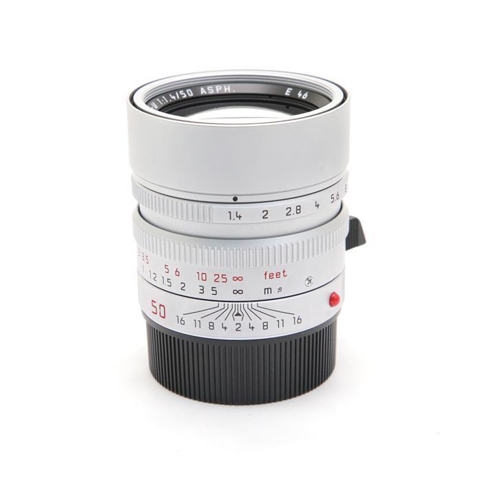 【あす楽】 【中古】 《良品》 Leica ズミルックス M50mm F1.4 ASPH. (6bit) シルバー [ Lens   交換レンズ ]