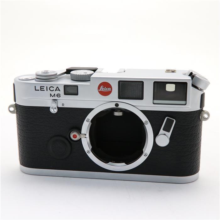 【あす楽】 【中古】 《美品》 Leica M6 シルバー 【オーバーホール/各部点検済】【マップカメラオリジナル KUROストラップ付!】