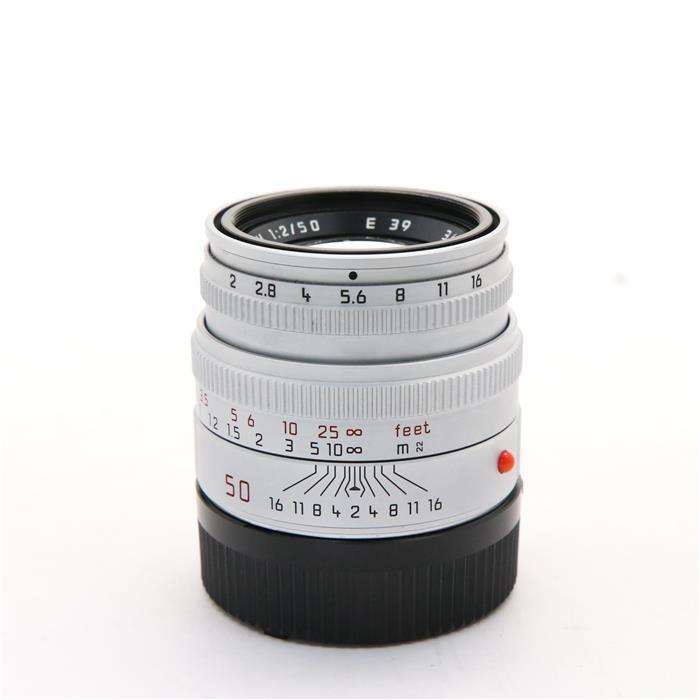 【あす楽】 【中古】 《並品》 Leica ズミクロン M50mm F2 レンズフード組込 シルバー [ Lens   交換レンズ ]