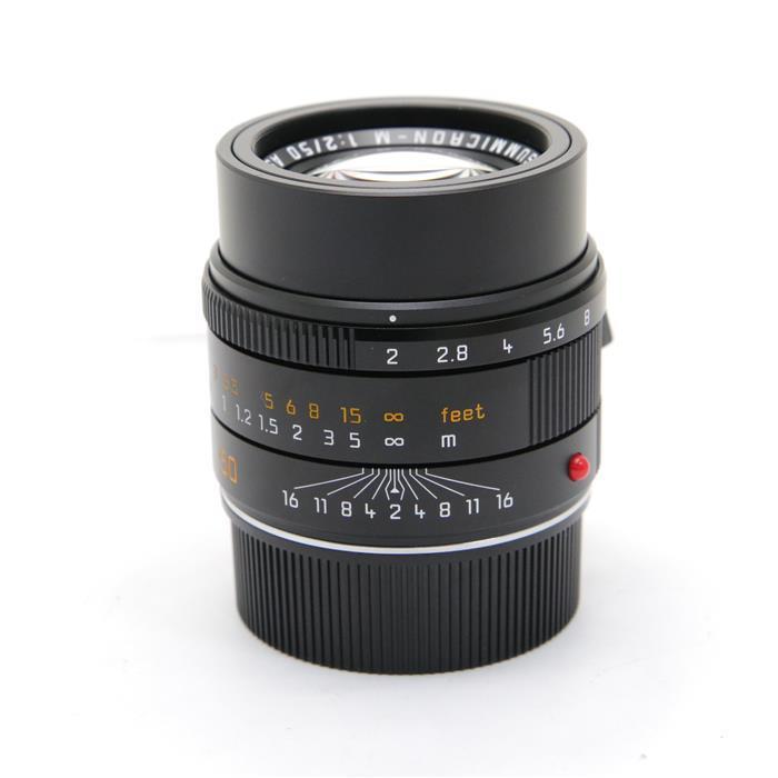 【あす楽】 【中古】 《美品》 Leica アポズミクロン M50mm F2.0 ASPH. ブラック [ Lens   交換レンズ ]