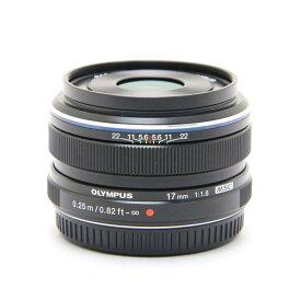 【あす楽】 【中古】 《良品》 OLYMPUS M.ZUIKO DIGITAL 17mm F1.8 ブラック (マイクロフォーサーズ) [ Lens | 交換レンズ ]