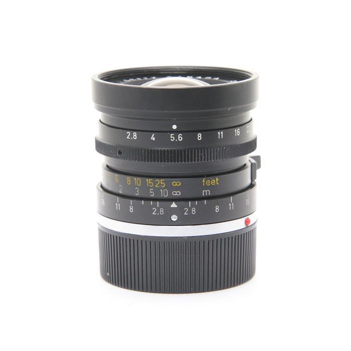 【あす楽】 【中古】 《難有品》 Leica エルマリート M28mm F2.8 (E48レトロタイプ無限遠ロック無) ※2nd [ Lens   交換レンズ ]