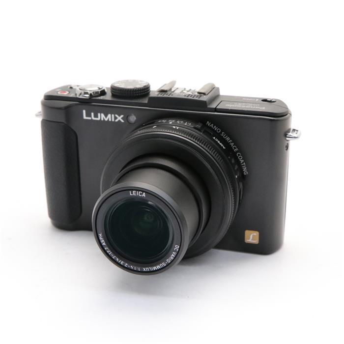 【あす楽】 【中古】 《良品》 Panasonic LUMIX DMC-LX7-K ブラック [ デジタルカメラ ]