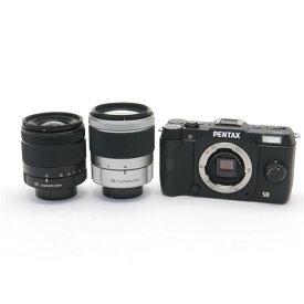 【あす楽】 【中古】 《良品》 PENTAX Q7 ダブルズームキット ブラック [ デジタルカメラ ]