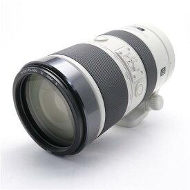【あす楽】 【中古】 《並品》 SONY 70-400mm F4-5.6 G SSM IISAL70400G2 [ Lens | 交換レンズ ]