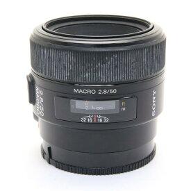 【あす楽】 【中古】 《並品》 SONY 50mm F2.8マクロ SAL50M28 [ Lens   交換レンズ ]