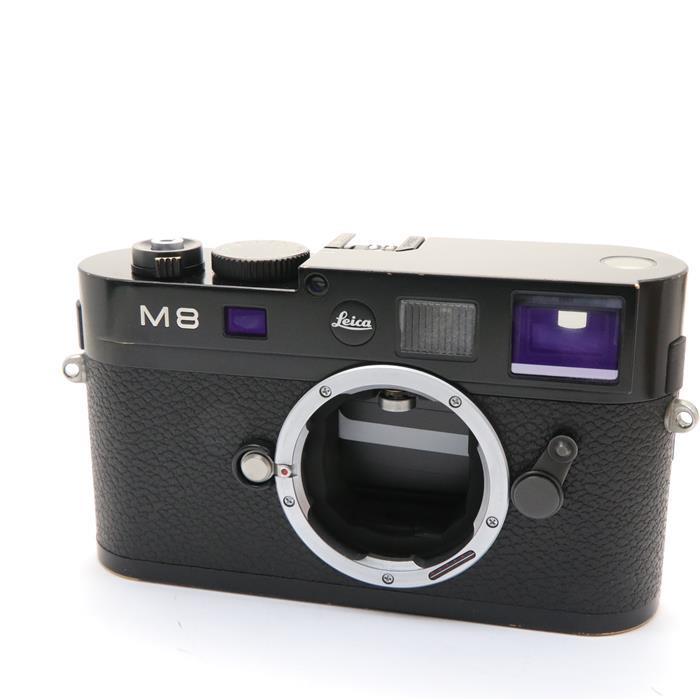 【あす楽】 【中古】 《並品》 Leica M8.2 ブラック 【ライカカメラジャパンにてシャッターチャージ機構部品交換/センサークリーニング/各部点検済】 [ デジタルカメラ ]