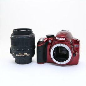 【あす楽】 【中古】 《美品》 Nikon D3200 レンズキット レッド [ デジタルカメラ ]