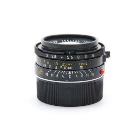 【あす楽】 【中古】 《並品》 Leica ズミクロン M35mm F2 7枚玉 ブラッククローム [ Lens | 交換レンズ ]