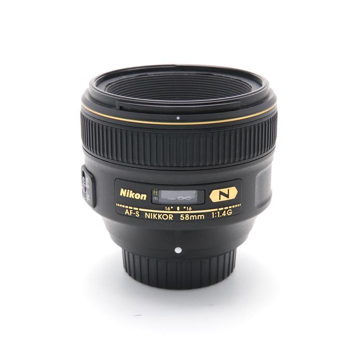【あす楽】 【中古】 《並品》 Nikon AF-S NIKKOR 58mm F1.4G [ Lens | 交換レンズ ]