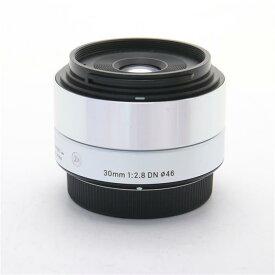【あす楽】 【中古】 《良品》 SIGMA A 30mm F2.8 DN (マイクロフォーサーズ用) シルバー [ Lens | 交換レンズ ]