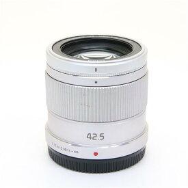 【あす楽】 【中古】 《良品》 Panasonic G 42.5mm F1.7 ASPH. POWER O.I.S. シルバー (マイクロフォーサーズ) [ Lens   交換レンズ ]