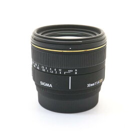 【あす楽】 【中古】 《良品》 SIGMA 30mm F1.4EX DC(ソニーα用) [ Lens | 交換レンズ ]