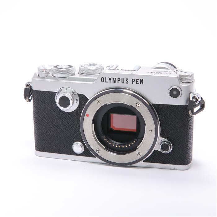 【あす楽】 【中古】 《並品》 OLYMPUS PEN-F ボディ シルバー [ デジタルカメラ ]
