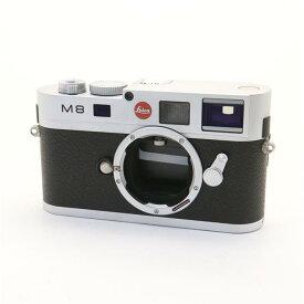 【あす楽】 【中古】 《良品》 Leica M8.2 シルバー 【ライカカメラジャパンにてシャッターチャージ機構部品交換/センサークリーニング/各部点検済】 [ デジタルカメラ ]