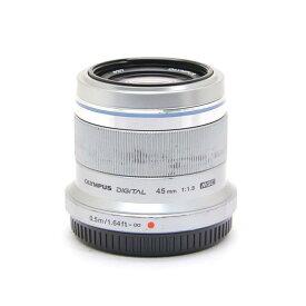 【あす楽】 【中古】 《並品》 OLYMPUS M.ZUIKO DIGITAL 45mm F1.8 シルバー (マイクロフォーサーズ) [ Lens | 交換レンズ ]