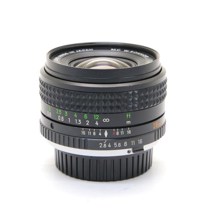 【あす楽】 【中古】 《並品》 MINOLTA New MC 28mm F2.8 ※ピントリングゴムローレット [ Lens | 交換レンズ ]