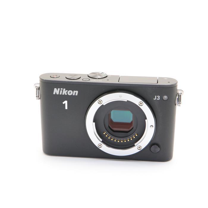 【あす楽】 【中古】 《並品》 Nikon Nikon 1 J3 ボディ ブラック [ デジタルカメラ ]