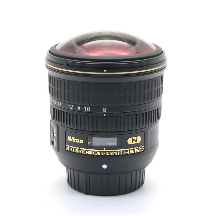 【あす楽】 【中古】 《美品》 Nikon AF-S Fisheye NIKKOR 8-15mm F3.5-4.5E ED [ Lens | 交換レンズ ]