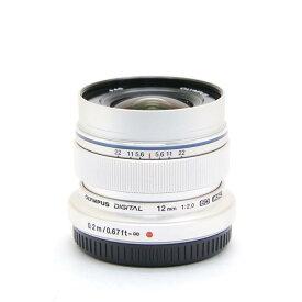 【あす楽】 【中古】 《美品》 OLYMPUS M.ZUIKO DIGITAL ED 12mm F2.0 シルバー (マイクロフォーサーズ) [ Lens | 交換レンズ ]