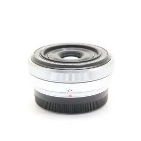 【あす楽】 【中古】 《良品》 FUJIFILM フジノン XF27mm F2.8 シルバー [ Lens | 交換レンズ ]