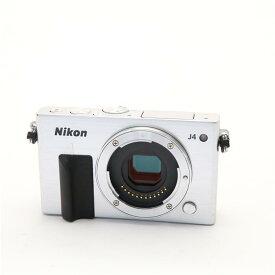 【あす楽】 【中古】 《良品》 Nikon Nikon 1 J4 ボディ シルバー [ デジタルカメラ ]
