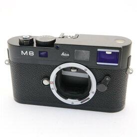 【あす楽】 【中古】 《並品》 Leica M8.2 ブラック 【ライカカメラジャパンにてLCDパネル内部センサークリーニング/センサーポジション調整/各部点検済】 [ デジタルカメラ ]