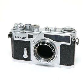 【あす楽】 【中古】 《並品》 Nikon SP(金属幕シャッター) シルバー 【ファインダー内清掃/各部点検済】