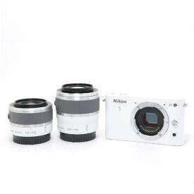 【あす楽】 【中古】 《美品》 Nikon Nikon 1 J1 ダブルズームキット ホワイト [ デジタルカメラ ]