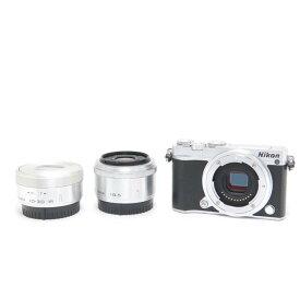 【あす楽】 【中古】 《並品》 Nikon Nikon 1 J5 ダブルレンズキット シルバー [ デジタルカメラ ]