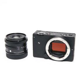【あす楽】 【中古】 《美品》 SIGMA fp & Contemporary 45mm F2.8 DG DN キット [ デジタルカメラ ]