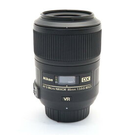 【あす楽】 【中古】 《美品》 Nikon AF-S DX Micro NIKKOR 85mm F3.5G ED VR [ Lens | 交換レンズ ]