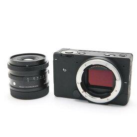 【あす楽】 【中古】 《良品》 SIGMA fp & Contemporary 45mm F2.8 DG DN キット [ デジタルカメラ ]
