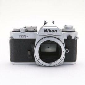 【あす楽】 【中古】 《良品》 Nikon FM3A シルバー 【ファインダー清掃/シャッター調整/各部点検済】