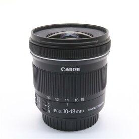 【あす楽】 【中古】 《美品》 Canon EF-S10-18mm F4.5-5.6 IS STM [ Lens | 交換レンズ ]