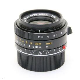 【あす楽】 【中古】 《美品》 Leica エルマリート M28mm F2.8 ASPH (6bit) (フードはめ込み式) ブラック [ Lens | 交換レンズ ]