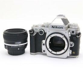 【あす楽】 【中古】 《並品》 Nikon Df 50mm F1.8G Special Editionキット シルバー [ デジタルカメラ ]
