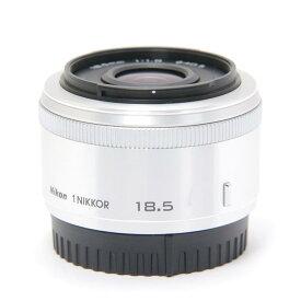 【あす楽】 【中古】 《並品》 Nikon 1 NIKKOR 18.5mm F1.8 シルバー 【別売レンズフード別売フィルター付!】 [ Lens   交換レンズ ]