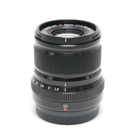 【あす楽】 【中古】 《良品》 FUJIFILM フジノン XF50mm F2 R WR ブラック [ Lens | 交換レンズ ]