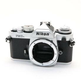 【あす楽】 【中古】 《美品》 Nikon FM3A シルバー 【露出精度調整/各部点検済】