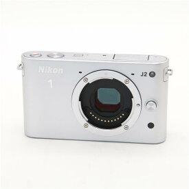 【あす楽】 【中古】 《並品》 Nikon Nikon1 J2 ボディ シルバー [ デジタルカメラ ]