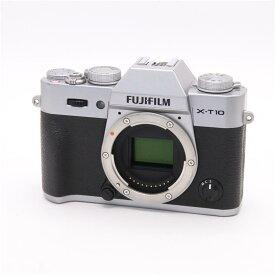 【あす楽】 【中古】 《並品》 FUJIFILM X-T10 ボディ シルバー [ デジタルカメラ ]