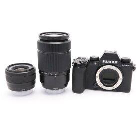 【あす楽】 【中古】 《美品》 FUJIFILM X-S10 ダブルズームレンズキット ブラック [ デジタルカメラ ]