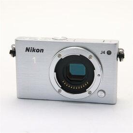 【あす楽】 【中古】 《並品》 Nikon Nikon 1 J4 ボディ  シルバー [ デジタルカメラ ]