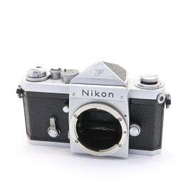 【あす楽】 【中古】 《並品》 Nikon F (eyelevel) シルバー 【モルト部品交換/シャッター精度調整/各部点検済】