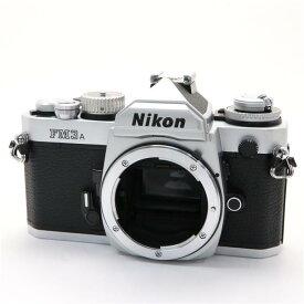 【あす楽】 【中古】 《並品》 Nikon FM3A シルバー 【シャッター精度調整/オート精度調整/各部点検済】