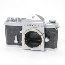 【あす楽】 【中古】 《並品》 Nikon F (eyelevel) シルバー 【ファインダー清掃/シャッター調整/各部点検済】