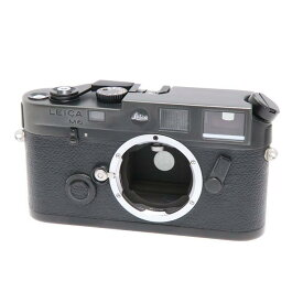 【あす楽】 【中古】 《並品》 Leica M6 ブラック 【ファインダー清掃/距離計シャッタースピード調整/各部点検済】