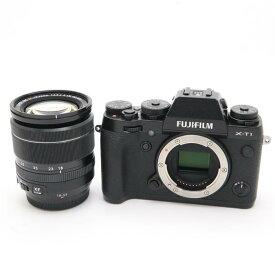 【あす楽】 【中古】 《美品》 FUJIFILM X-T1 + XF18-55mmキット ブラック [ デジタルカメラ ]