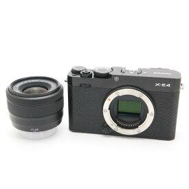 【あす楽】 【中古】 《美品》 FUJIFILM X-E4 XC15-45mmレンズキット ブラック [ デジタルカメラ ]